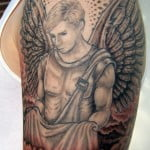 Guardian Angel Tattoos For Women Designs