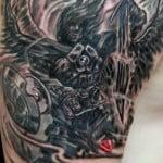 Michael Angel Tattoo Designs