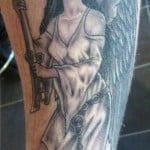 Pictures Of Guardian Angel Tattoos