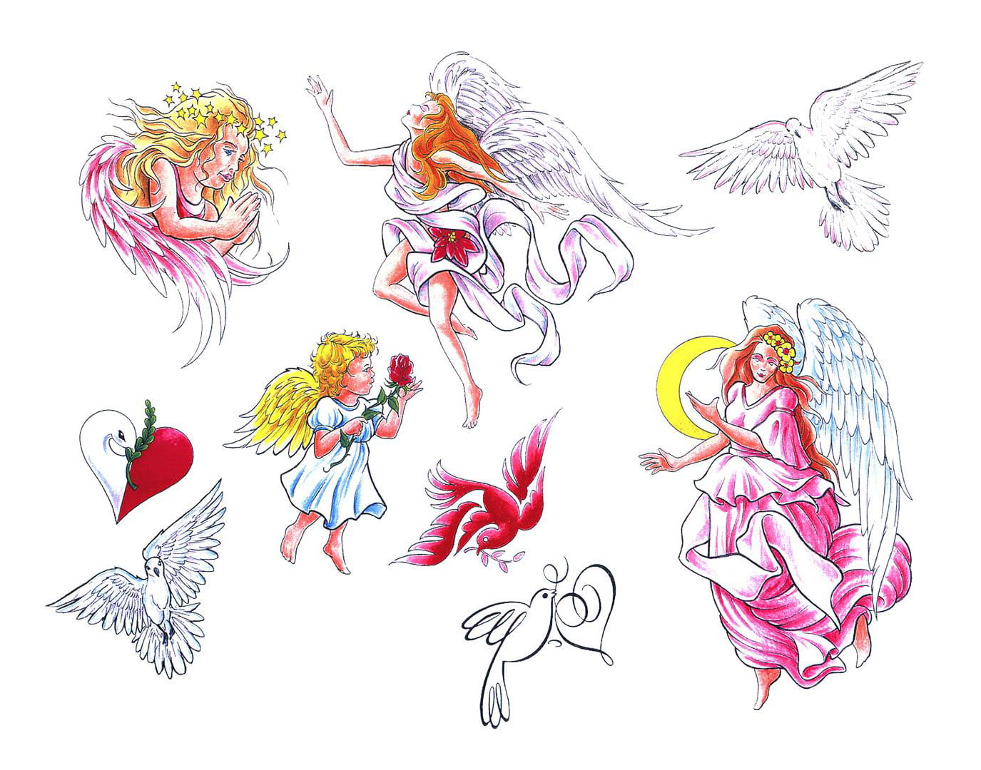 Tattoo Designs Angels