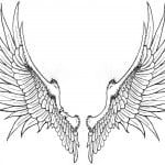 Tattoos Of Angels With Wings