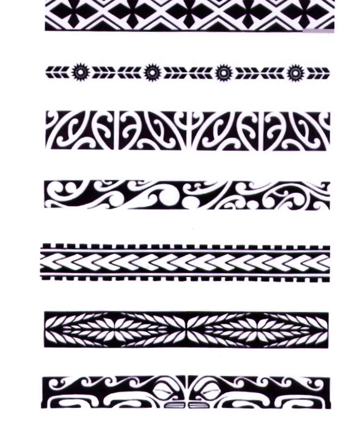 Hawaiian Tribal Armband Tattoos | Cool Tattoos - Bonbaden