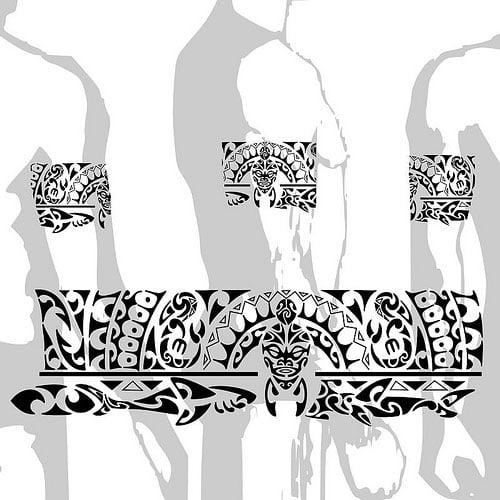 maori tattoo armband designs cool tattoos bonbaden. Black Bedroom Furniture Sets. Home Design Ideas