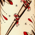 Baseball Bat Tattoos