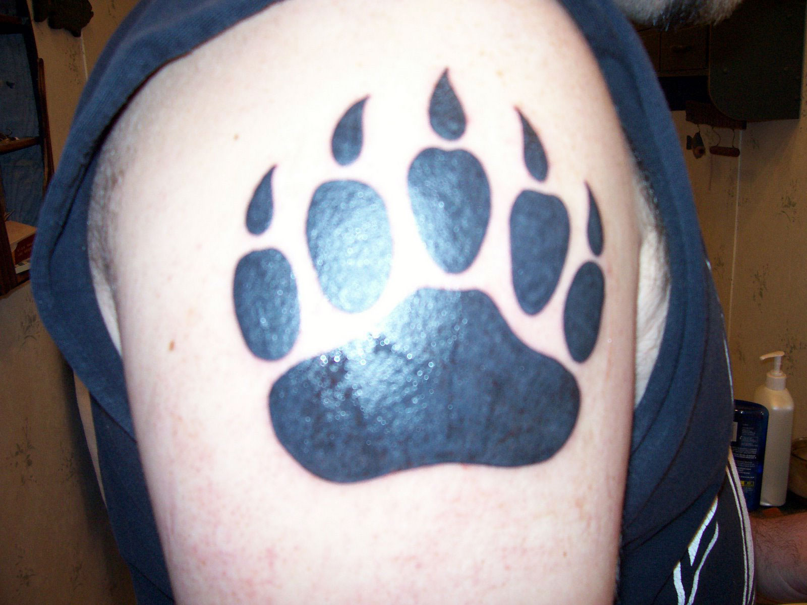 Bear Paw Tattoo Designs