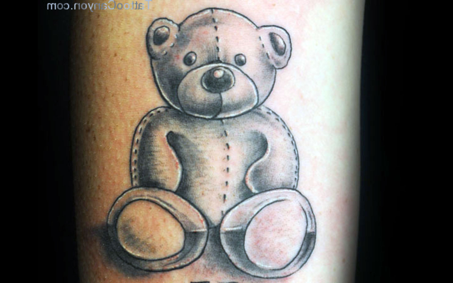 Cute Teddy Bear Tattoos