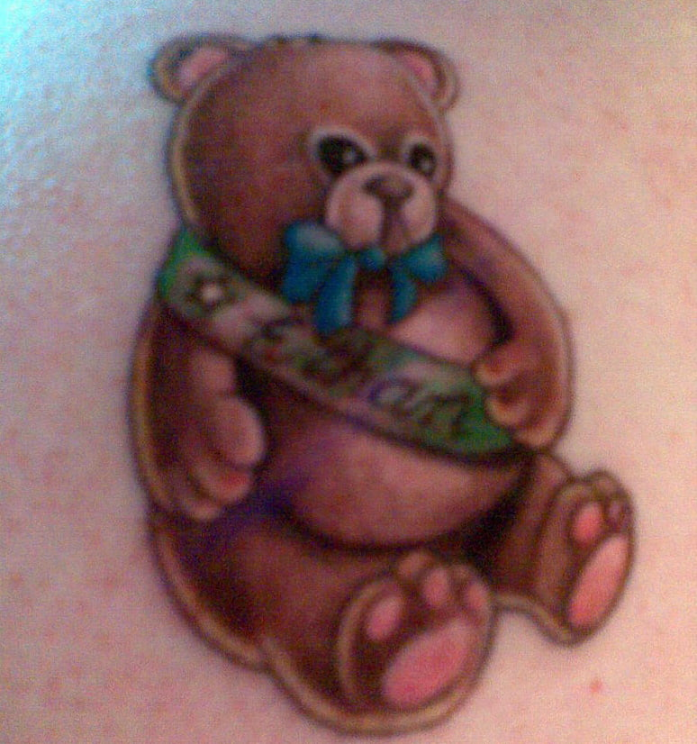Tattoo Teddy Bear