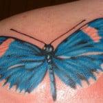 3d Tattoos Butterflies