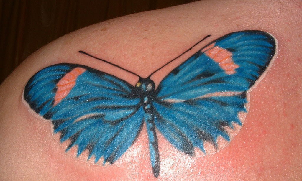 3d Tattoos Butterflies