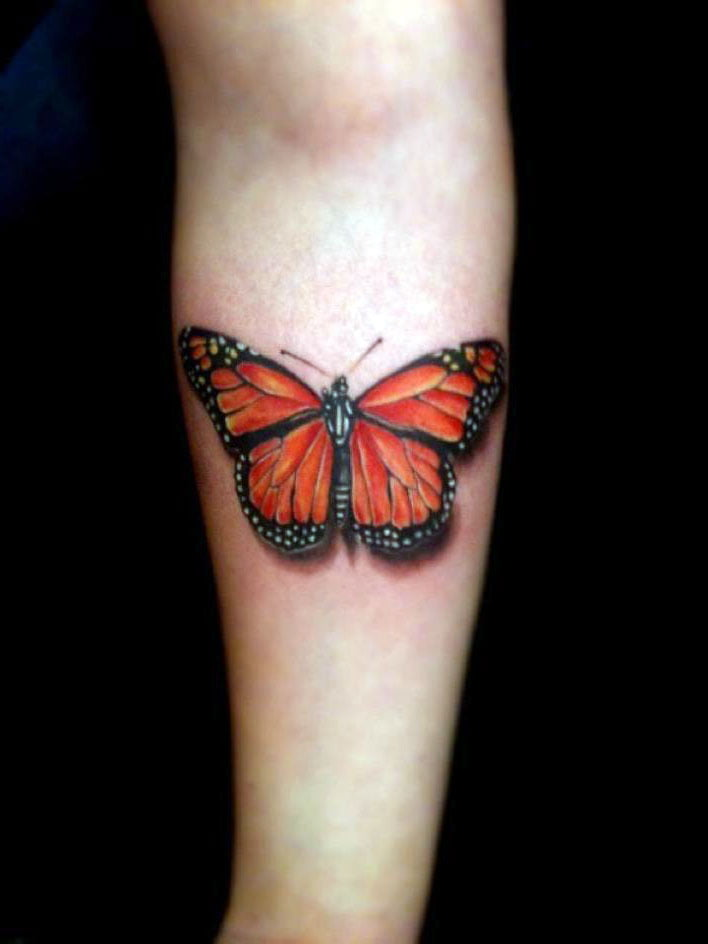 Butterfly Hand Tattoo Designs
