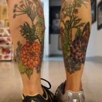 Butterfly Leg Tattoos