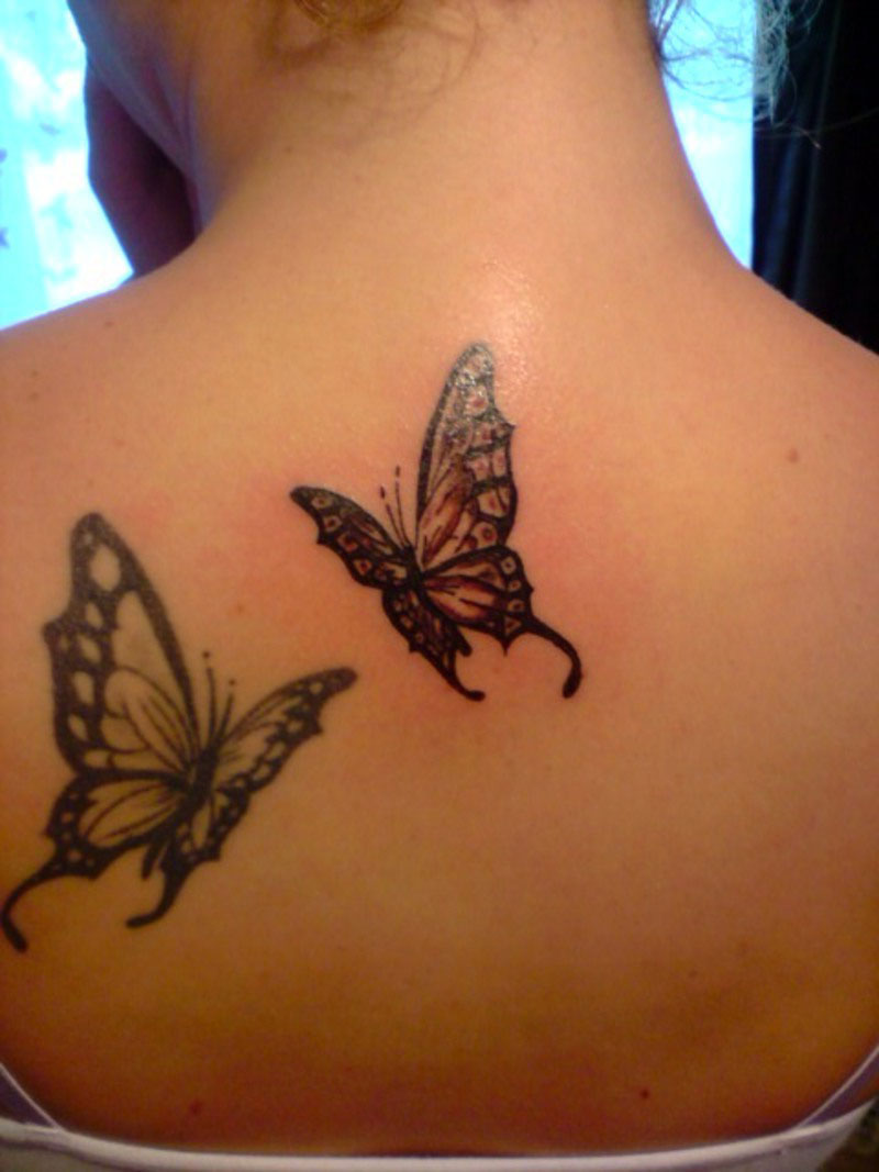 Butterfly Pictures Tattoo Design