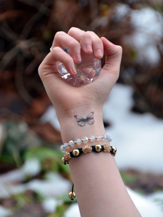 Fake Butterfly Tattoos