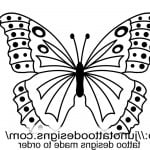 Free Butterfly Tattoo Designs To Print