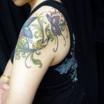 Small Butterfly Tattoos On Shoulder