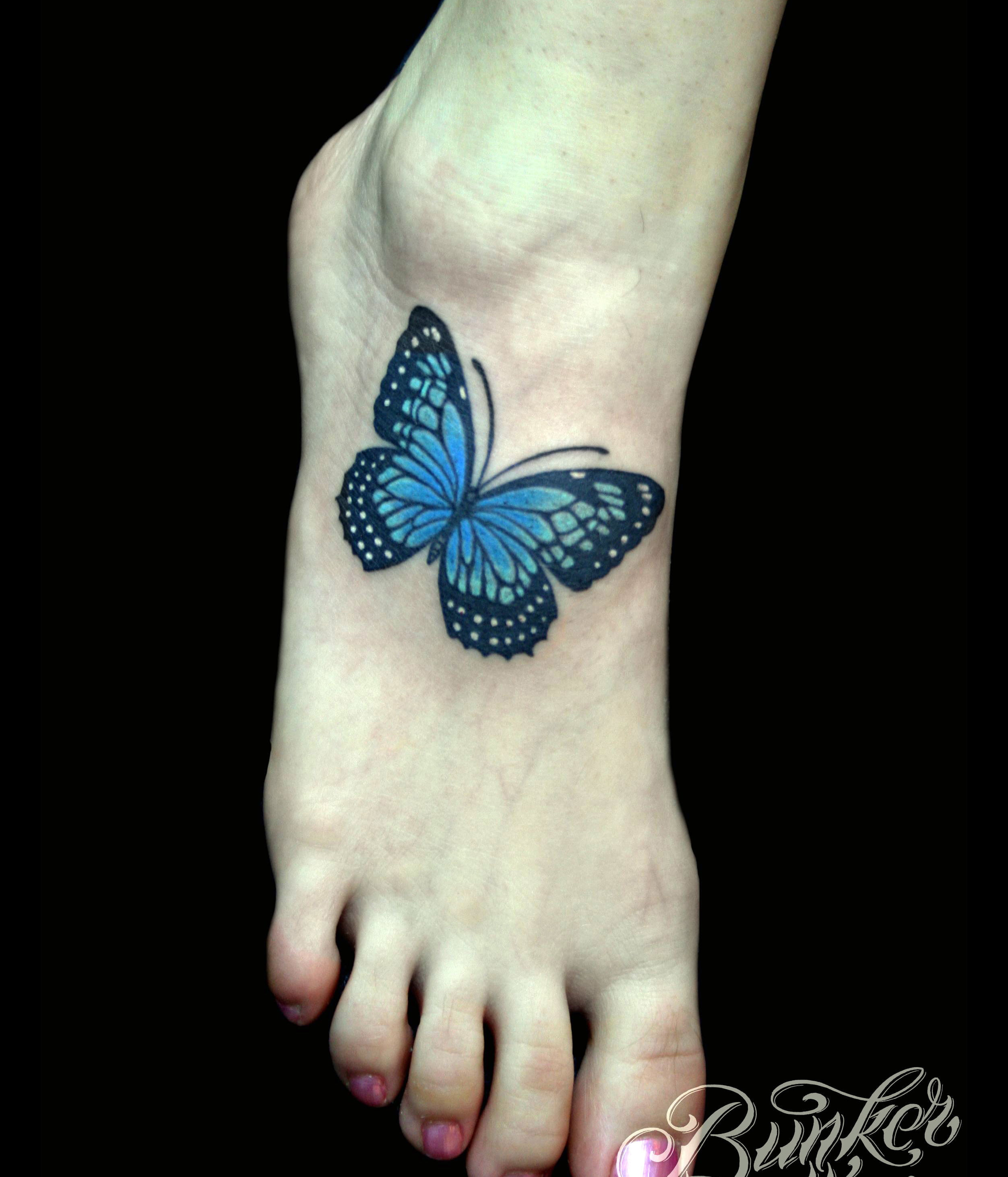 Ulysses Butterfly Tattoo