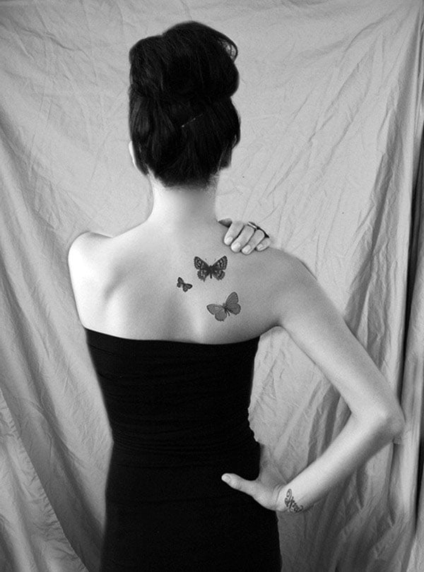 Unique Butterfly Tattoos Women