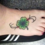 Tattoos Four Leaf Clover