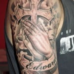 Cool Cross Tattoos For Guys
