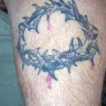 Cross Tattoos With Crown Of Thorns