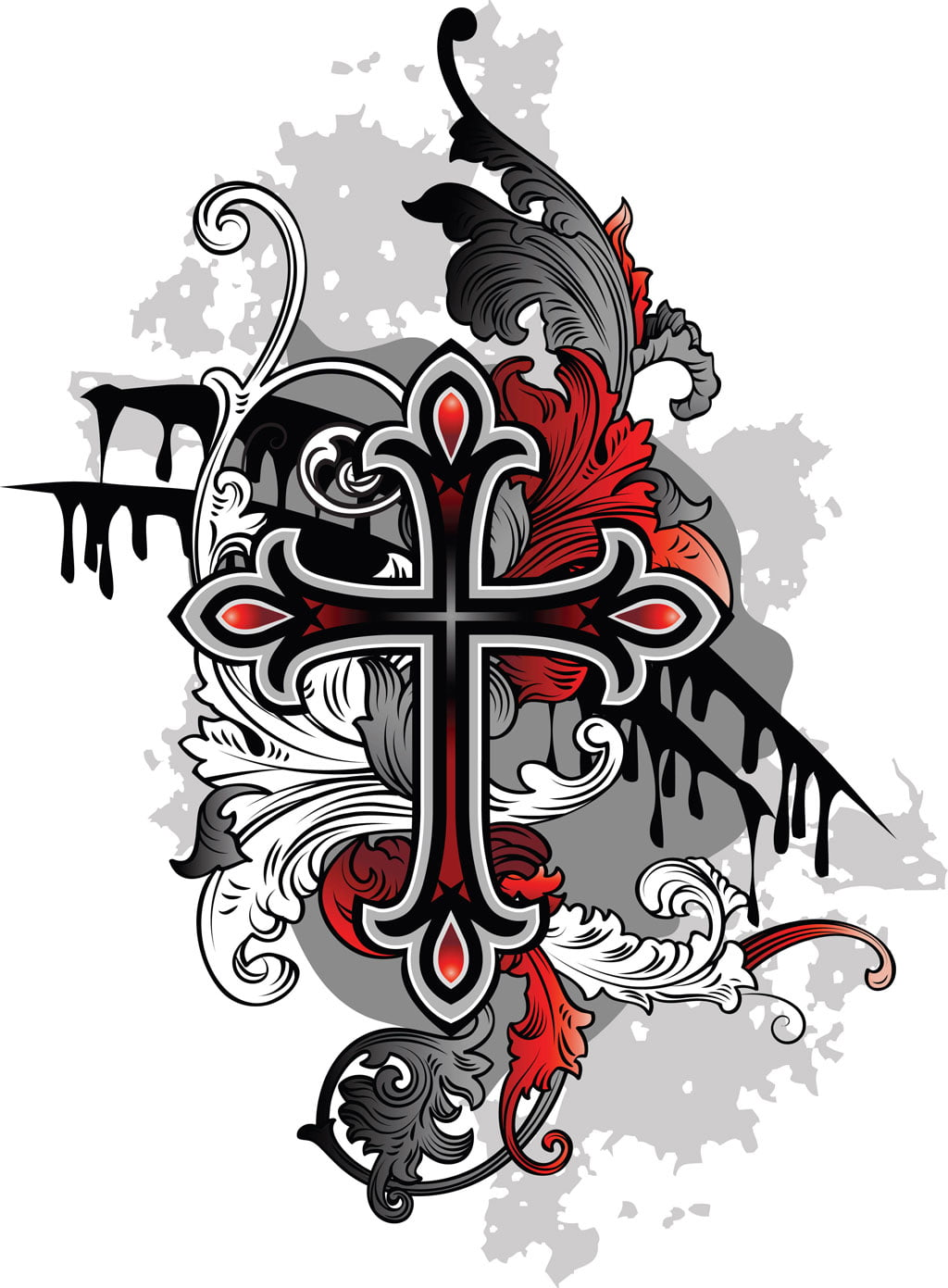 Gothic Cross Tattoos