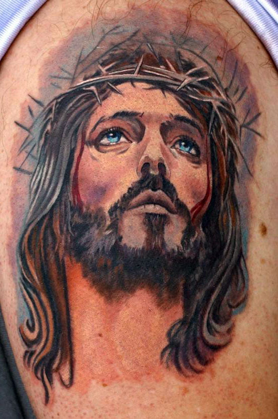 Jesus Cross Tattoo Pictures