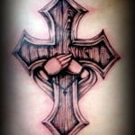Ladies Cross Tattoos