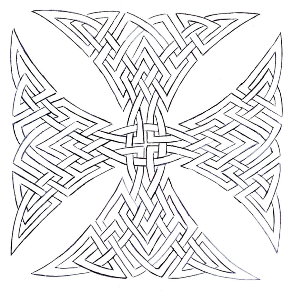 Maltese Cross Tattoo Designs
