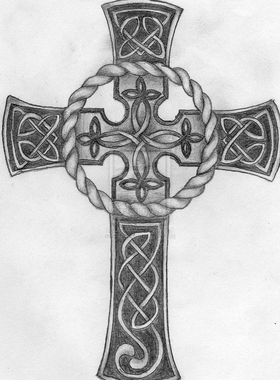 small celtic cross tattoo designs cool tattoos bonbaden. Black Bedroom Furniture Sets. Home Design Ideas