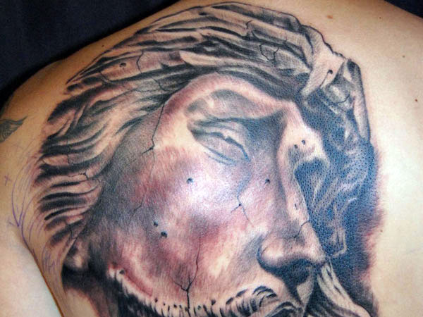 Tattoos Of Jesus Christ On The Cross