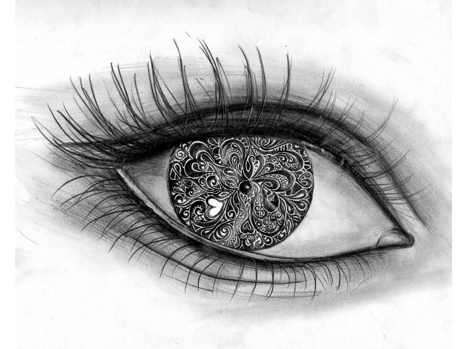 Cat Eye Tattoo Designs