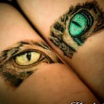 Cat Eyes Tattoos