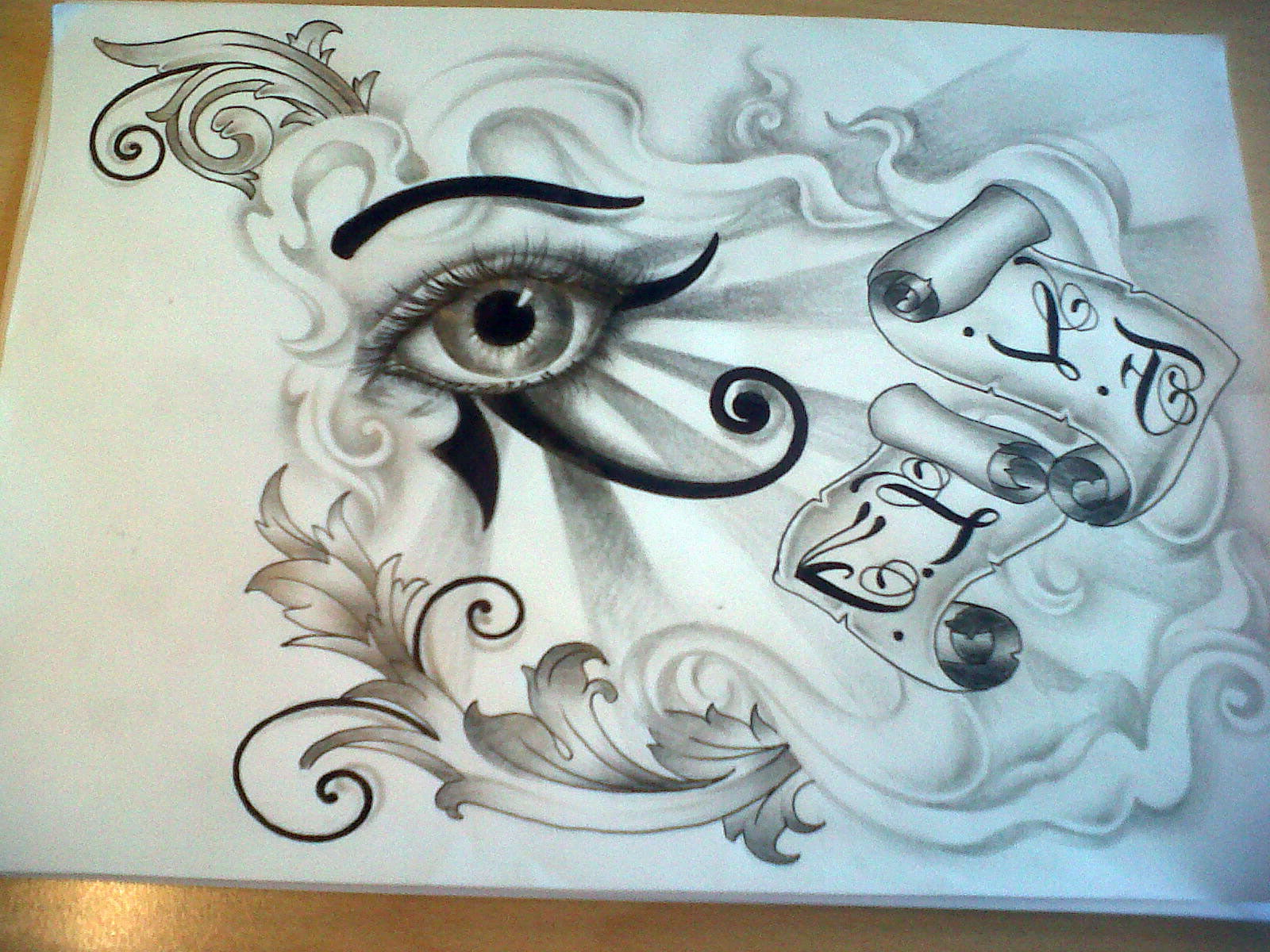 eye of horus tattoo designs cool tattoos bonbaden. Black Bedroom Furniture Sets. Home Design Ideas