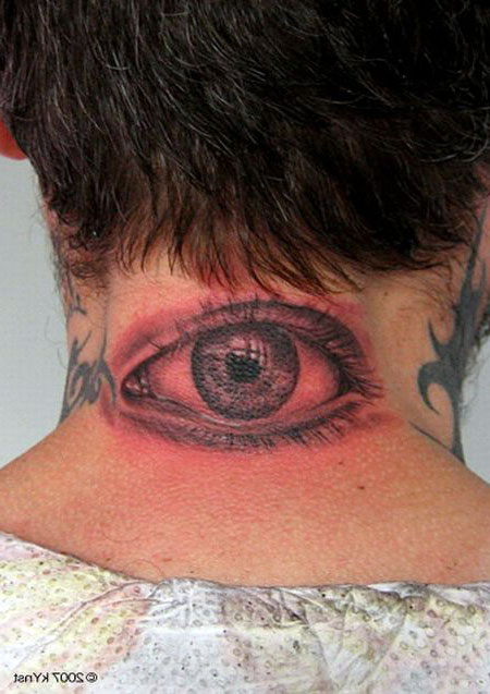 Tattoo On Eyes