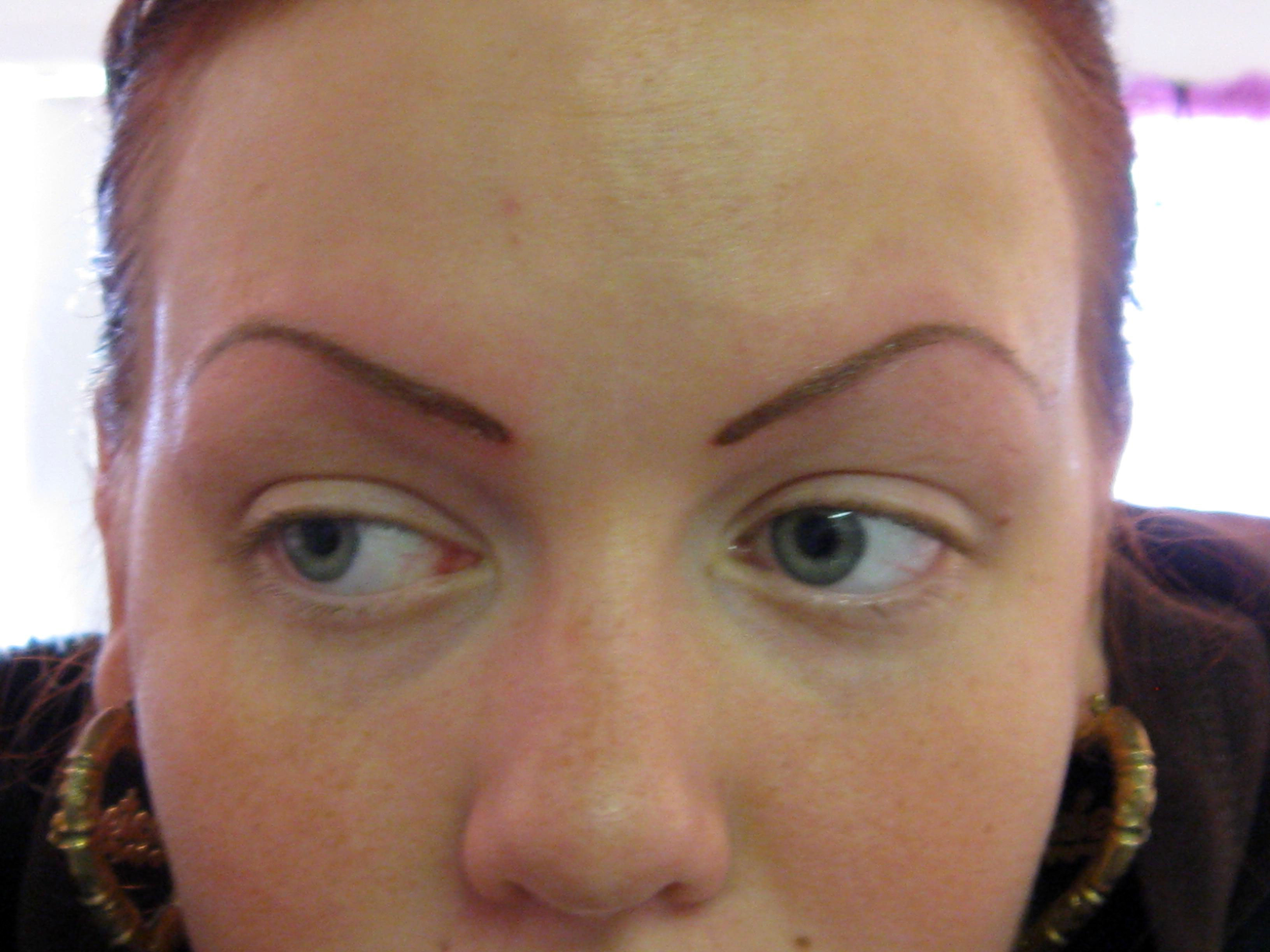 Tattooed Eye Brows