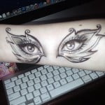 Tattoos Eyes Designs