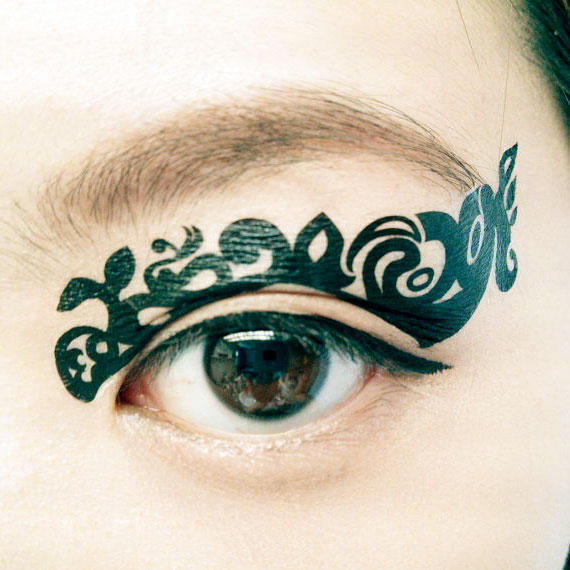 Temporary Eye Tattoo