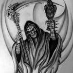 Top Grim Reaper Tattoos Designs