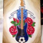 Bass Guitar Tattoos