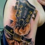 Guitar Tattoo Pics