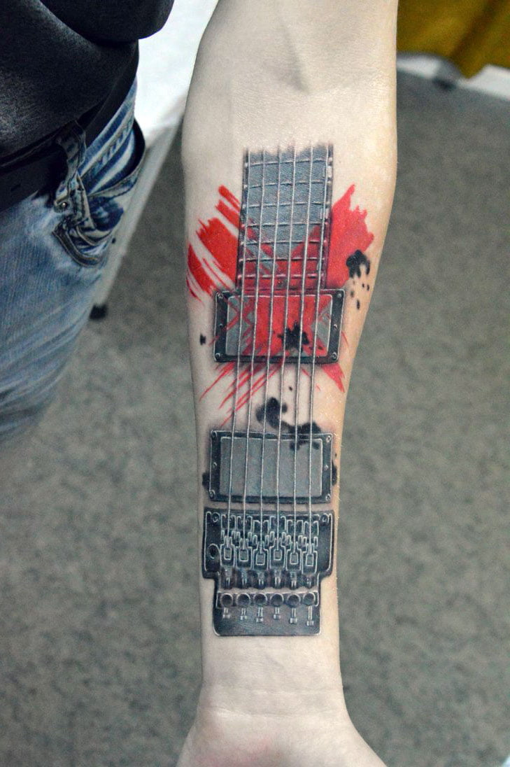 Tattoo Guitars