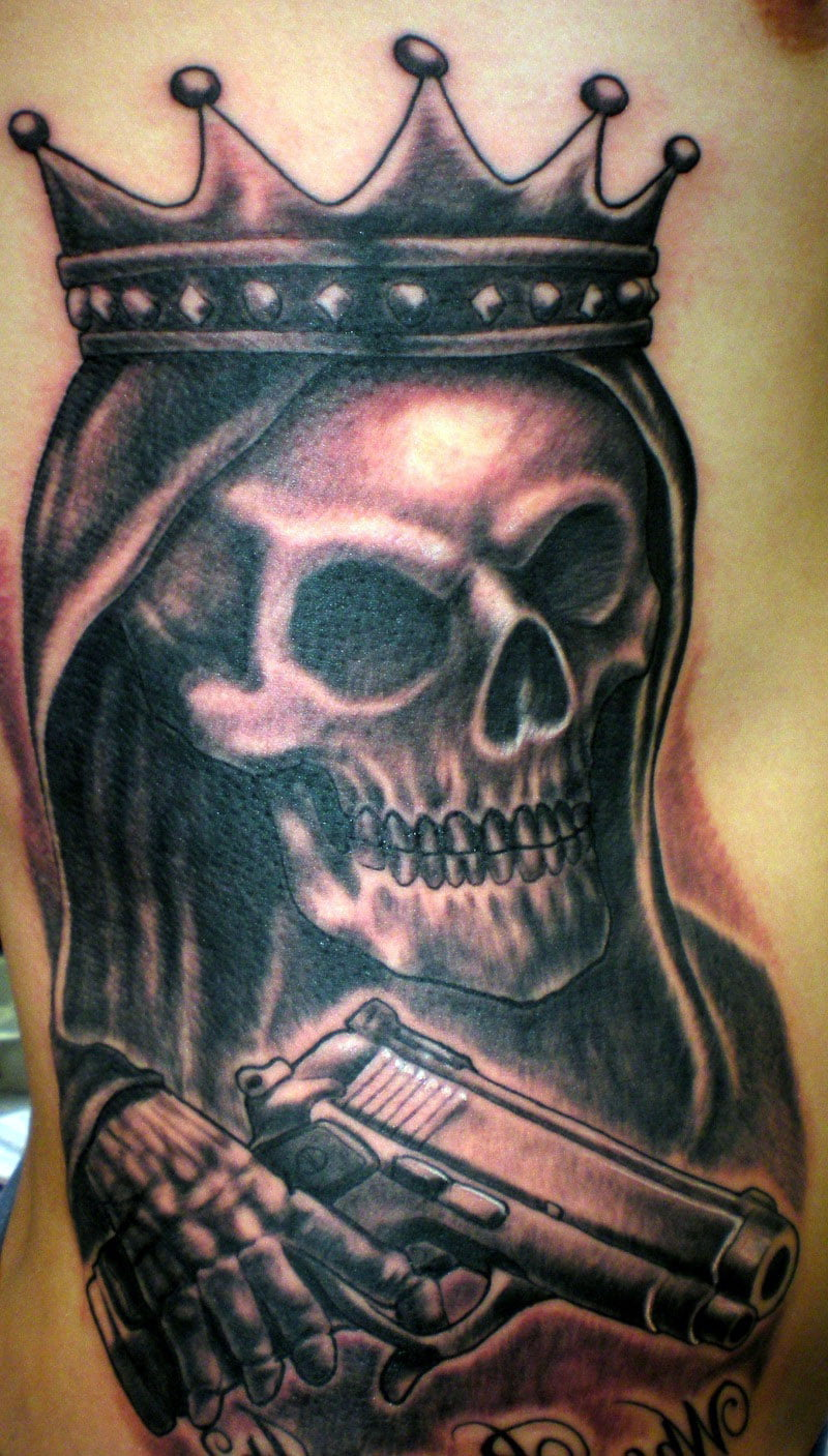 Gun Tattoos Meaning