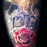 Guns And Roses Tattoos For Girls