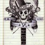 Guns N Roses Tattoo Designs