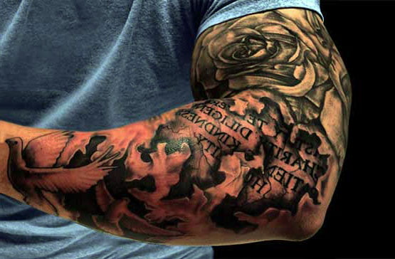 Half Sleeve Tattoo Cost: Cool Tattoos - Bonbaden