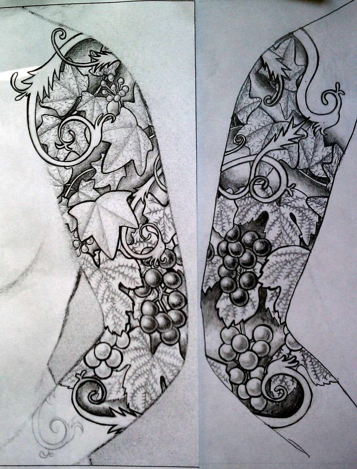 half sleeve tattoo women