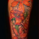 Flower Half Sleeve Tattoos For Men