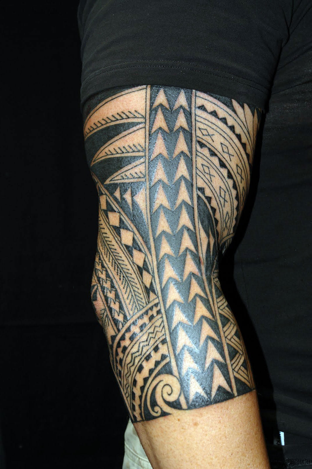 full sleeve polynesian tattoo designs cool tattoos bonbaden. Black Bedroom Furniture Sets. Home Design Ideas