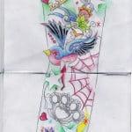 Half Sleeve Tattoo Designs Women