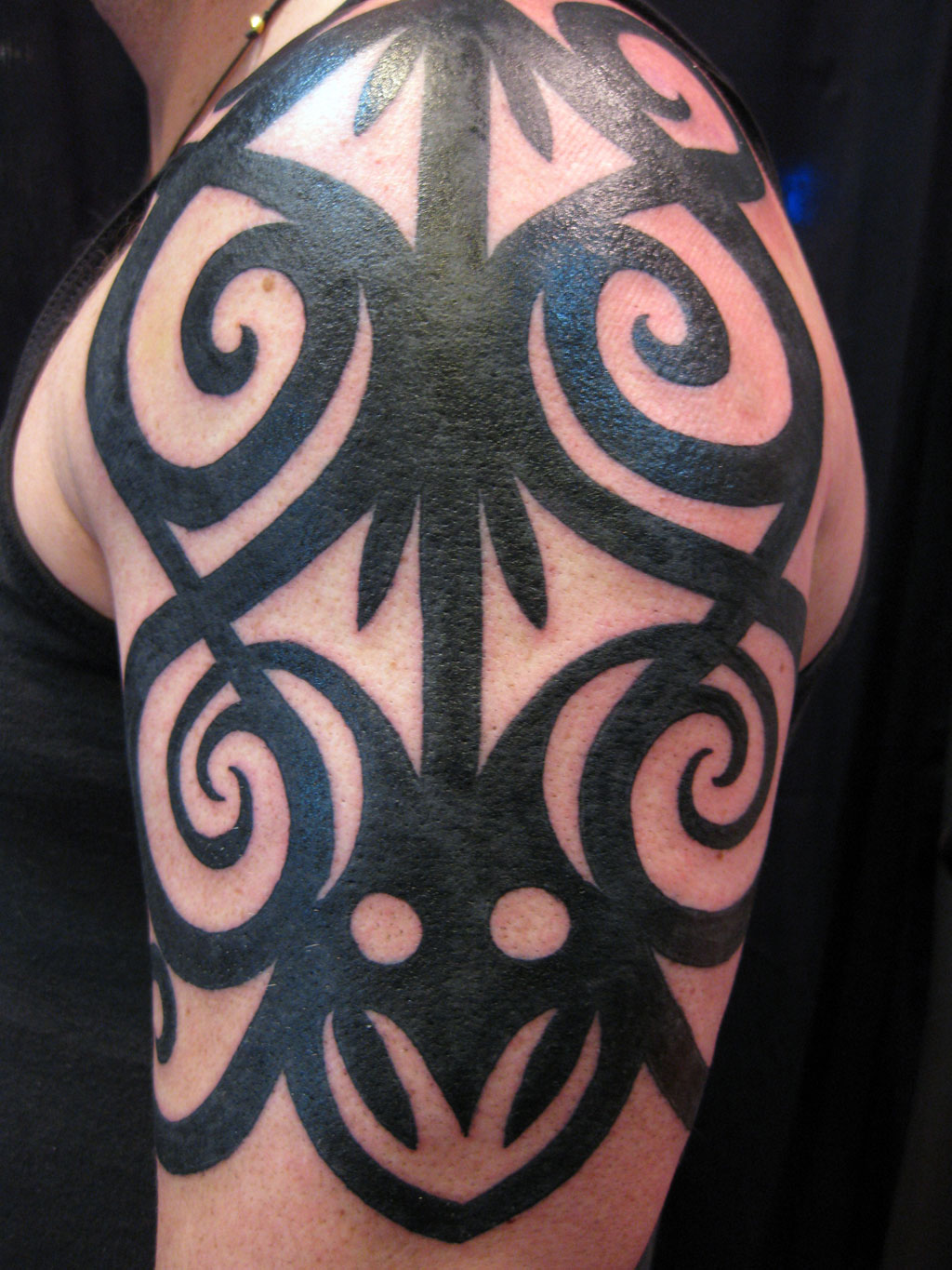 Half Sleeve Tribal Tattoo Designs
